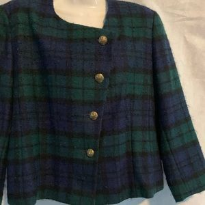 VINTAGE COLLECTORS PENDLETON PETITE 100% PURE WOOL